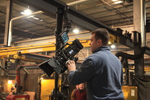 Behind the lens of a Sony F55