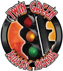 Twin Green Traffic Signals logo