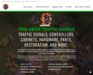 Twin Green Online website grab