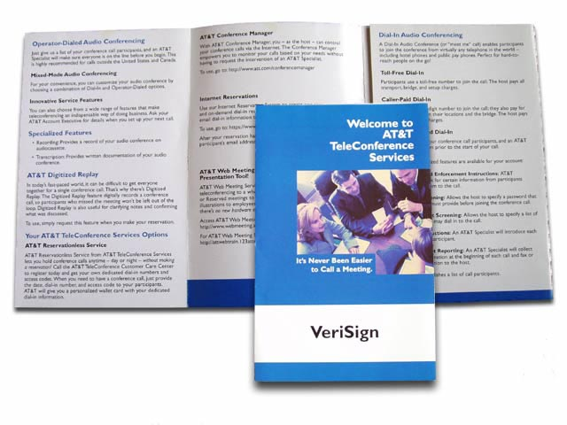 AT&T Teleconference Sales Brochure